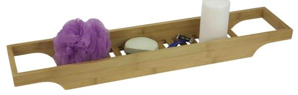 Natural Bamboo Bathroom Caddy