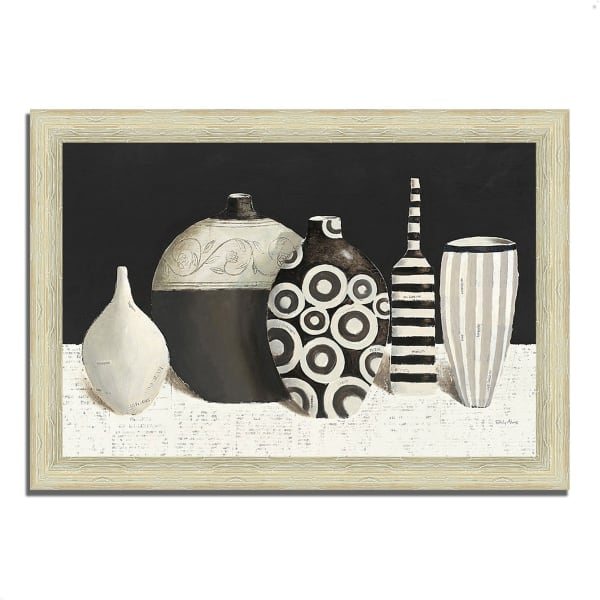 Framed Painting Print 36 In. x 26 In. Objet d'Art by Emily Adams Multi Color