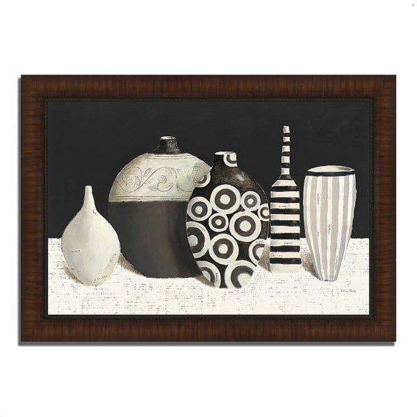 Framed Painting Print 42 In. x 30 In. Objet d'Art by Emily Adams Multi Color