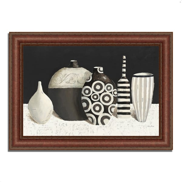Framed Painting Print 43 In. x 31 In. Objet d'Art by Emily Adams Multi Color
