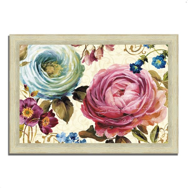 Framed Painting Print 42 In. x 30 In. Victoria's Dream III by Lisa Audit Multi Color