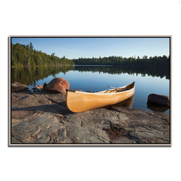 Fine Art Giclee Print on Gallery Wrap Canvas 32 In. x 22 In. Invitation to Relax Multi Color