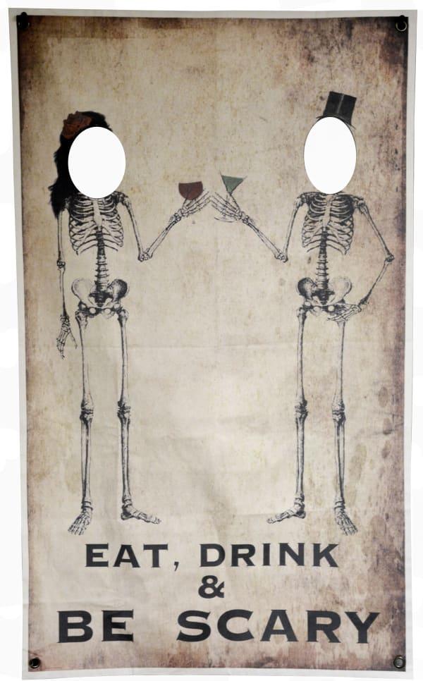 Skeleton Toast Photo Banner