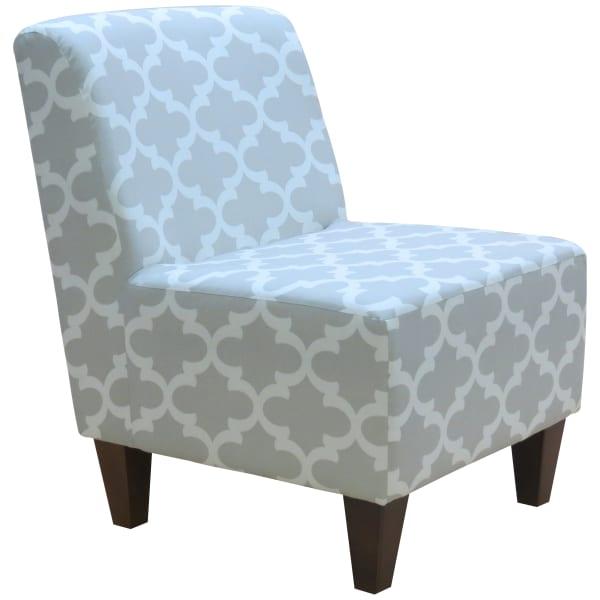 Fynn French Gray Armless Slipper Chair