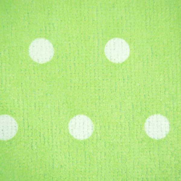 Lime Polkadots Mixed Dishtowel Set