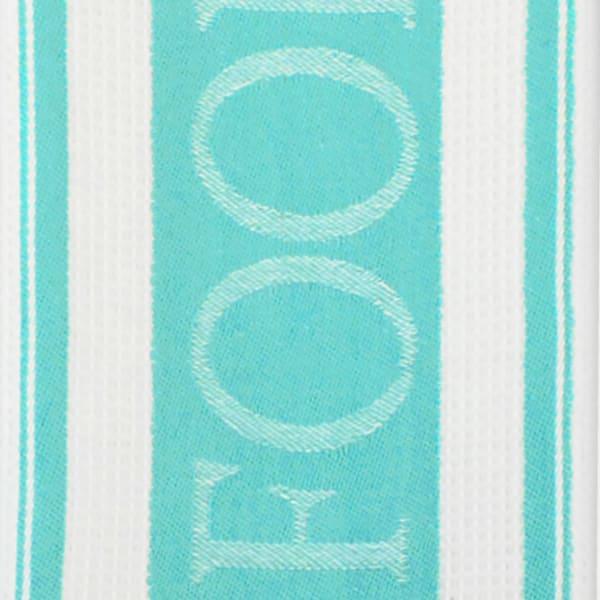 Teal Dish Towel & Dish Cloth Set of 5