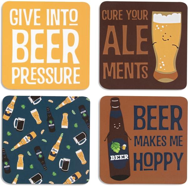 Beer Coaster Set of 4