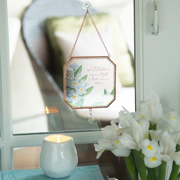 Mother Memorial Glass Suncatcher