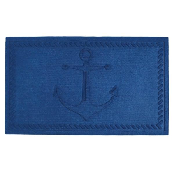Blue Anchor Doormat