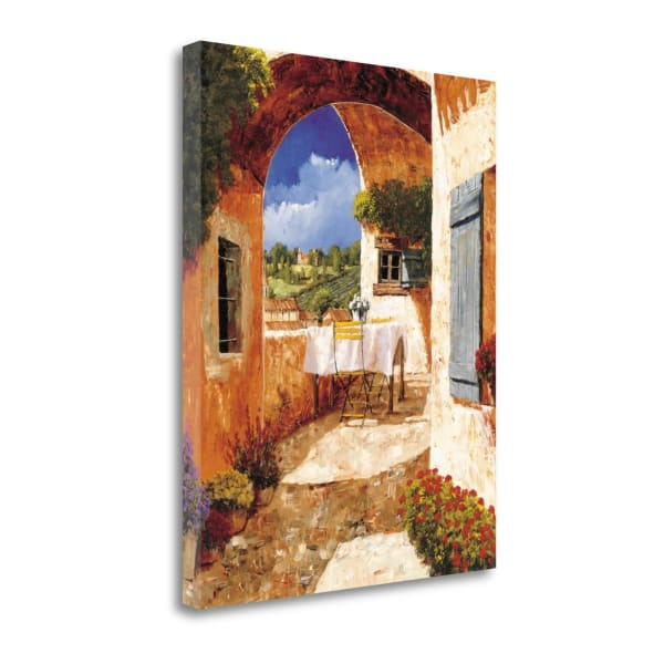 Gallery Wrap Canvas 18 In. x 23 In. The Days Of Wine And Roses By Gilles Archambault Multi Color