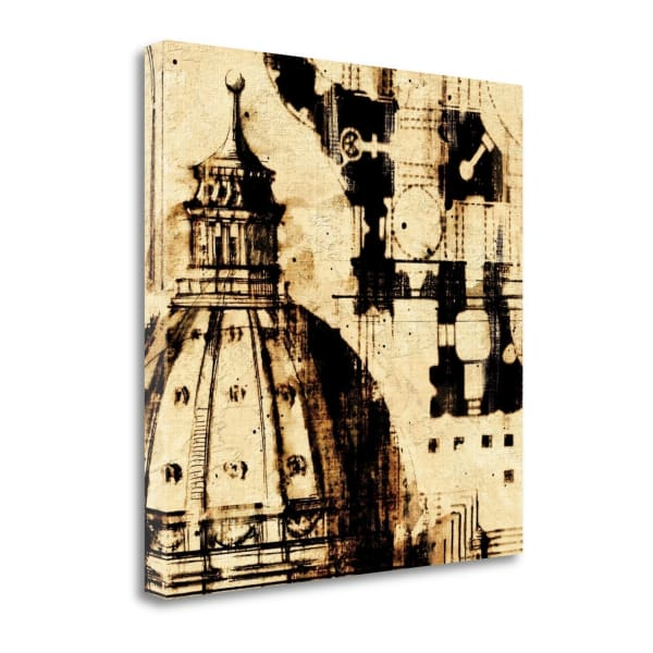 Giclee Print on Gallery Wrap Canvas 20 In. x 20 In. Classical Style - D By Paul Panossian , Multi Color