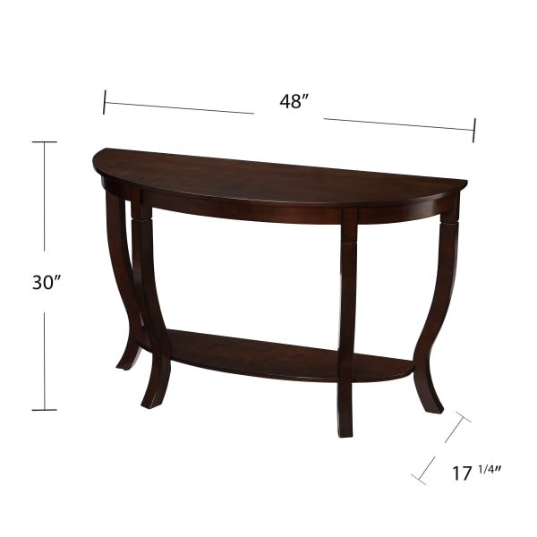 Tynemouth Demilune Console Table