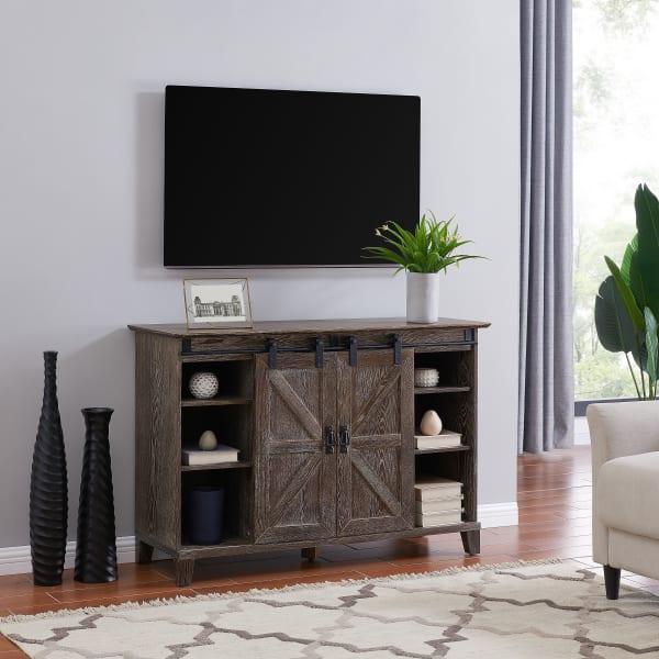 Laurie  Barn Door TV Stand