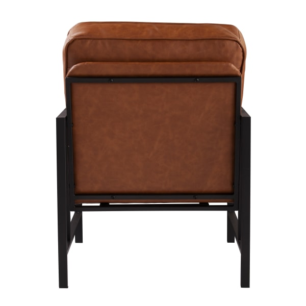 Rotherham Faux Leather Upholstered Accent Chair