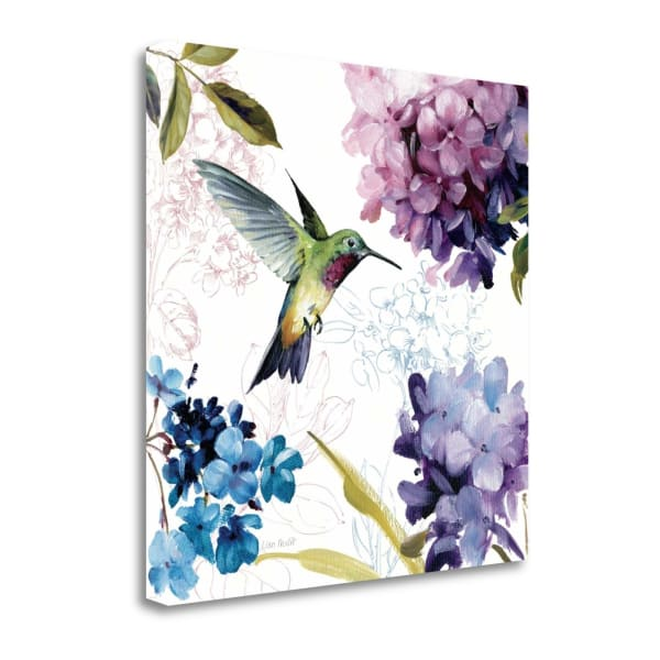 Giclee Print on Gallery Wrap Canvas 20 In. x 20 In. Spring Nectar Square II By Lisa Audit Multi Color