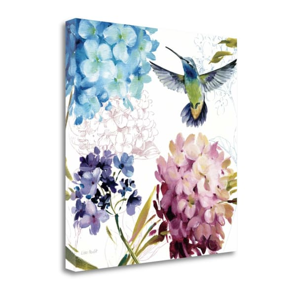 Giclee Print on Gallery Wrap Canvas 20 In. x 20 In. Spring Nectar Square III By Lisa Audit Multi Color