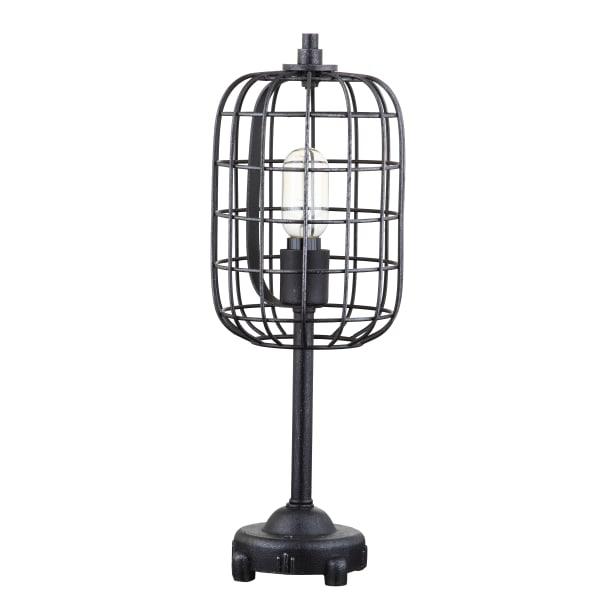 Industrial Black Table Lamp