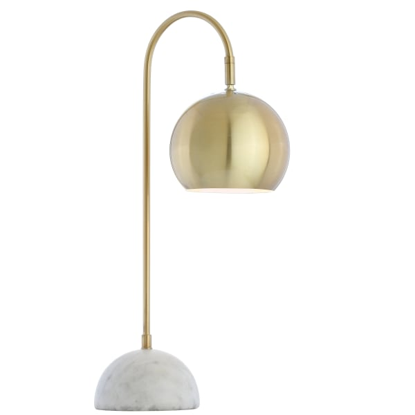 Brass & Marble Table Lamp