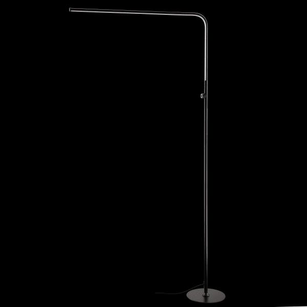 Integrated Floor Lamp, Black