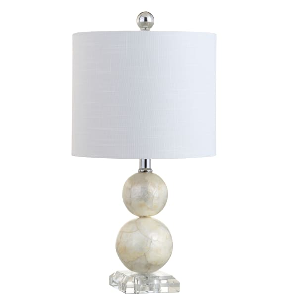 Seashell Table Lamp, Ivory