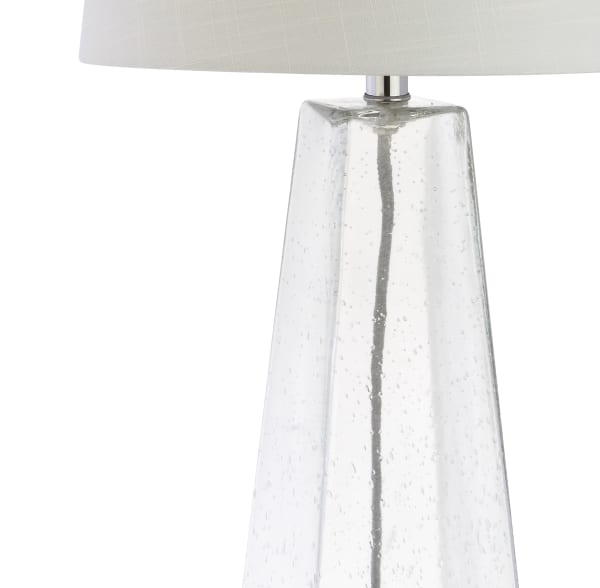 Glass Table Lamp, Clear