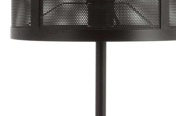 Minimalist Metal Table Lamp, Black