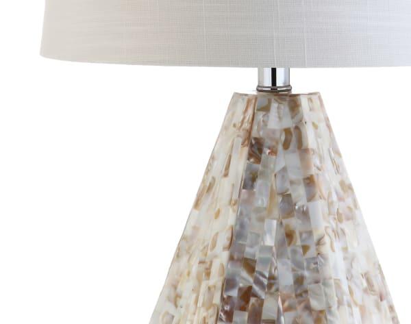 Seashell Table Lamp, Natural Ivory (Set of 2)