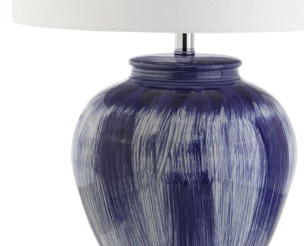 Ceramic Table Lamp, Seaside Blue
