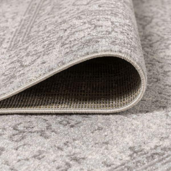 Filigree Modern Gray Gray/Dark Gray Area Rug