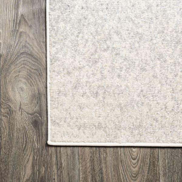 Modern Gradient Gray/Cream 4' x 6' Area Rug