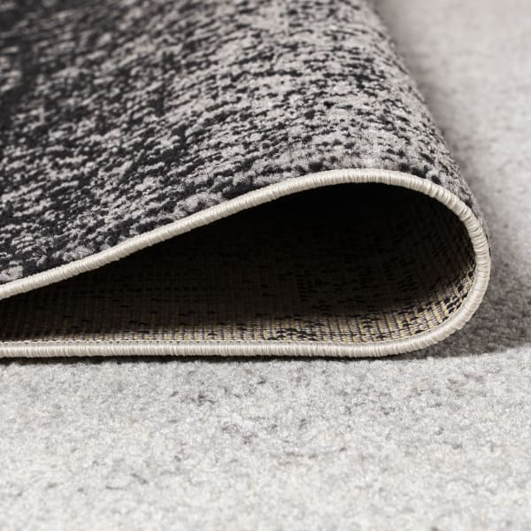 Shore Modern Gradient Gray/Cream 3' x 5' Area Rug