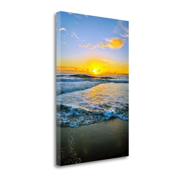 Twin Waters Down By Tracie Louise Wrapped Canvas Wall Art