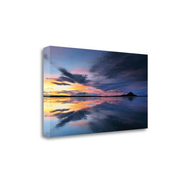 Lake Myvatn Reflections By Andy Mumford Wrapped Canvas Wall Art