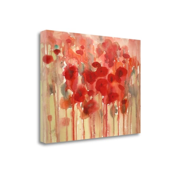 Happy By Karen Margulis  Wrapped Canvas Wall Art