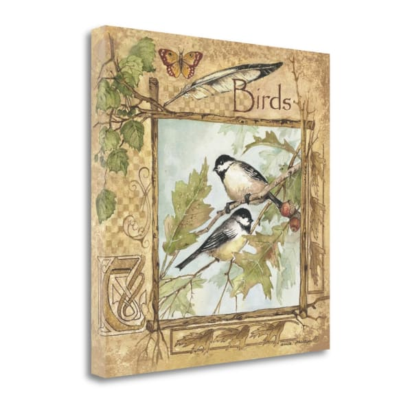 Birds By Anita Phillips Wrapped Canvas Wall Art