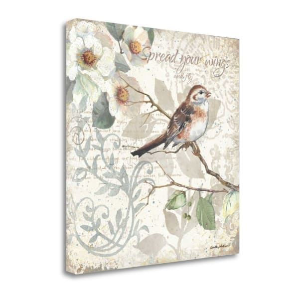 Spread Your Wings By Anita Phillips Wrapped Canvas Wall Art
