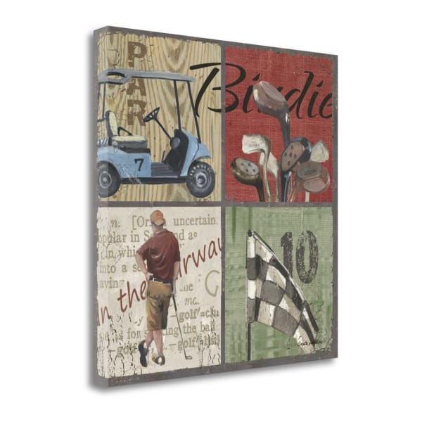 Birdie By Anita Phillips Wrapped Canvas Wall Art