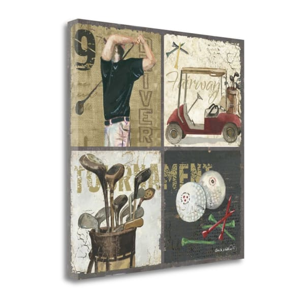 Tournament By Anita Phillips Wrapped Canvas Wall Art