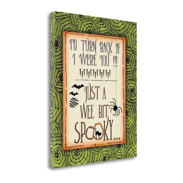 Wee Spooky By Jo Moulton Wrapped Canvas Wall Art