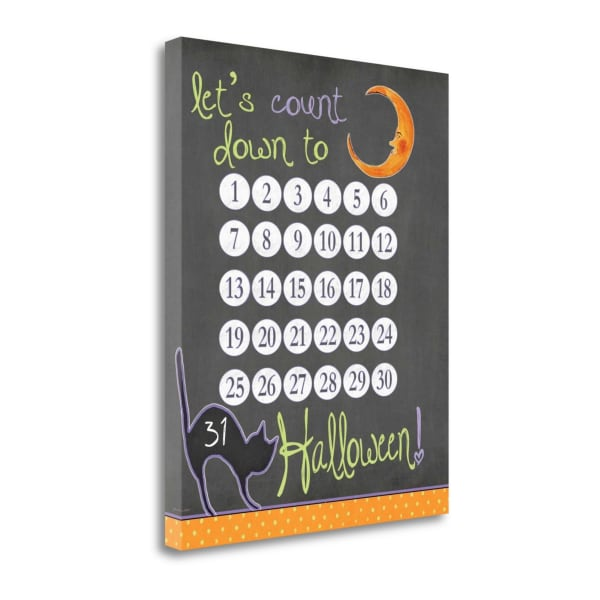 Count Down By Jo Moulton Wrapped Canvas Wall Art