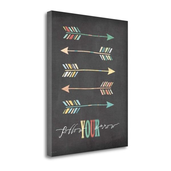 Follow Your Arrow By Jo Moulton Wrapped Canvas Wall Art