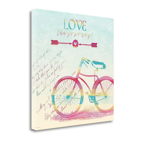 Love The Journey By Jo Moulton Wrapped Canvas Wall Art