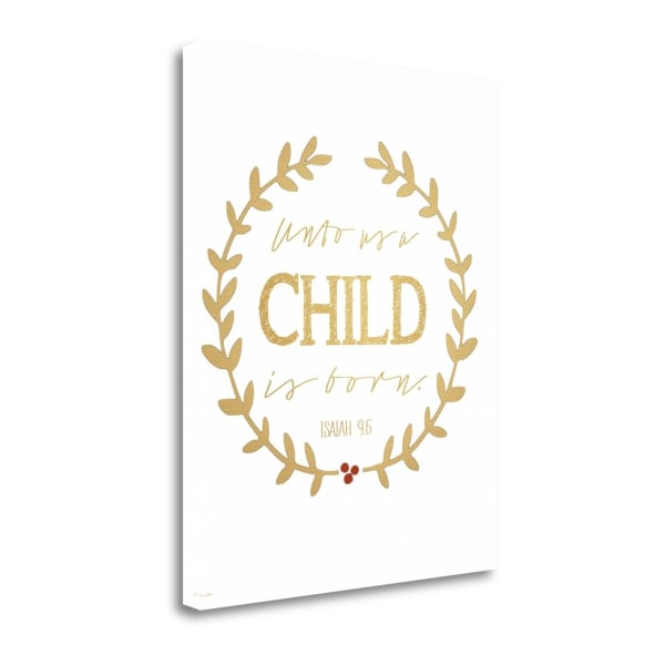 Child By Jo Moulton Wrapped Canvas Wall Art