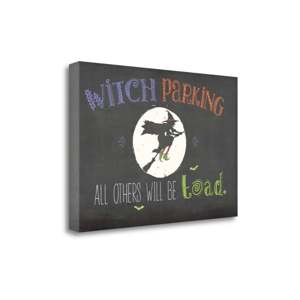 Witch Parking By Jo Moulton Wrapped Canvas Wall Art