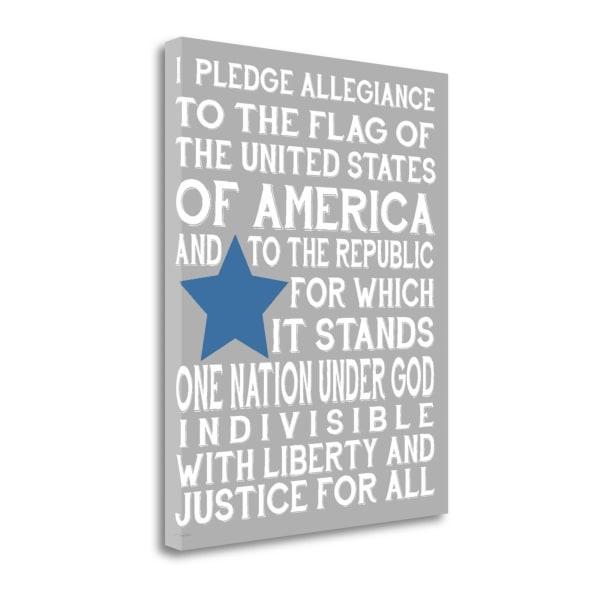 Pledge III By Jo Moulton Wrapped Canvas Wall Art
