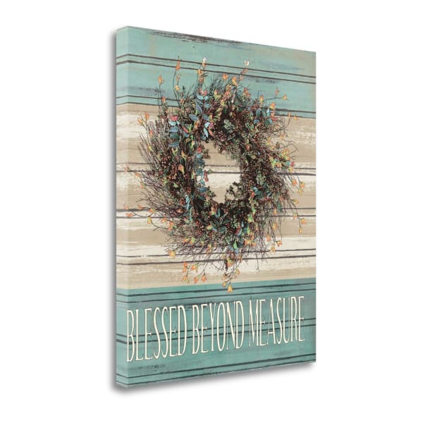 Fall Give Thanks By Jo Moulton Wrapped Canvas Wall Art