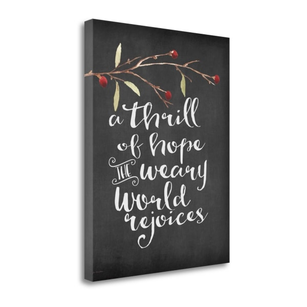The World Rejoices By Jo Moulton Wrapped Canvas Wall Art
