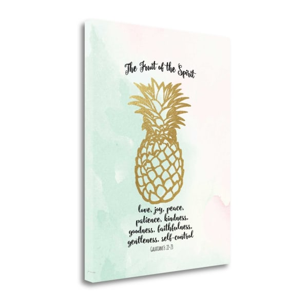 Fruit Of The Spirit By Jo Moulton Wrapped Canvas Wall Art