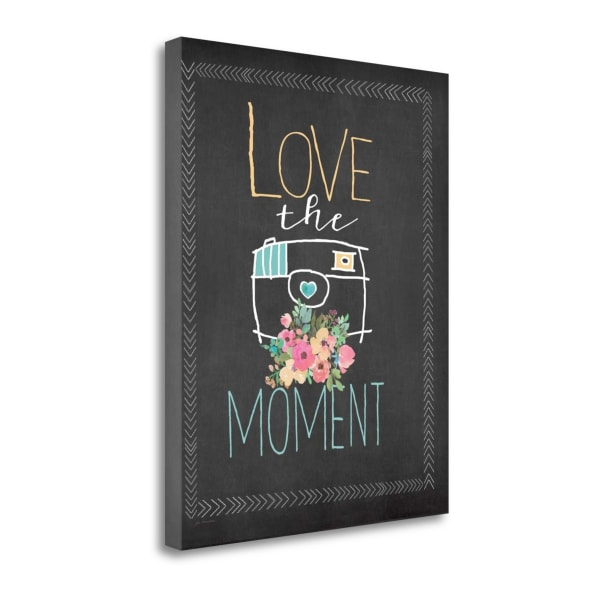 Love The Moment By Jo Moulton Wrapped Canvas Wall Art