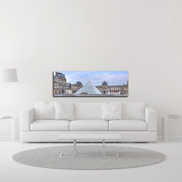 Louve Vista du Matin No. 1 by Alan Blaustein Wrapped Canvas Wall Art